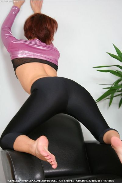Kelly in Spandex free